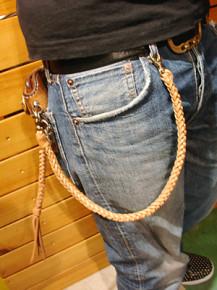 ウォレットロープ 六つ編み