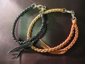 ウォレットロープ 四つ編み