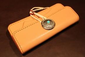 Center concho wallet